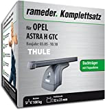 Rameder Komplettsatz, Dachträger SquareBar für Opel Astra H GTC (116390-05209-1)