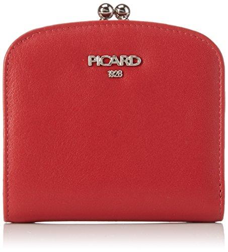 Picard Damen BINGO Geldbörsen, rot), 10x9x3 cm