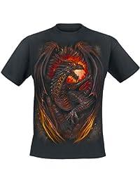 Spiral Direct - T-shirt -  - Manches courtes Homme Noir Noir