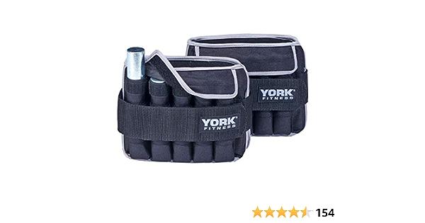 York Fitness 2 x 5kg Poids de la cheville