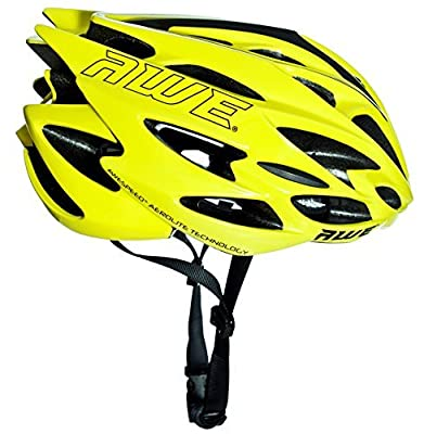 AWE® AWESpeed™ FREE 5 YEAR CRASH REPLACEMENT* In Mould Adult Mens Road Racing Cycling Helmet 58-61cm Neon from AWE®