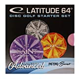 Latitude Disc Golf Einsteiger Starterset Retro Burst Advanced 3 Scheiben Putter Midrange Driver