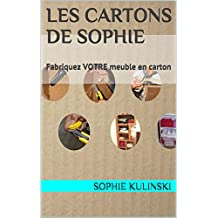 Les cARTons de Sophie: Fabriquez VOTRE meuble en carton (Les bases du cartonnage) (French Edition)