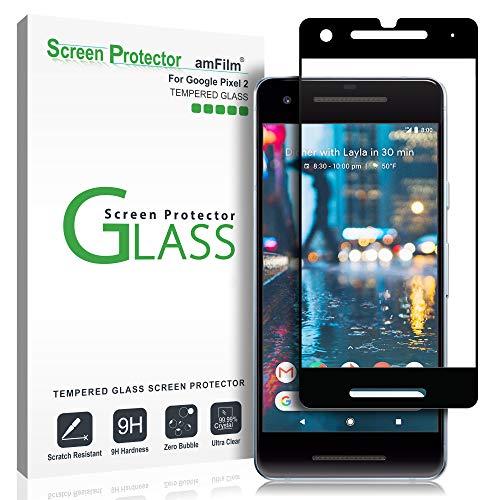 Google Pixel 2 Glas Displayschutzfolie, amFilm Vollständige