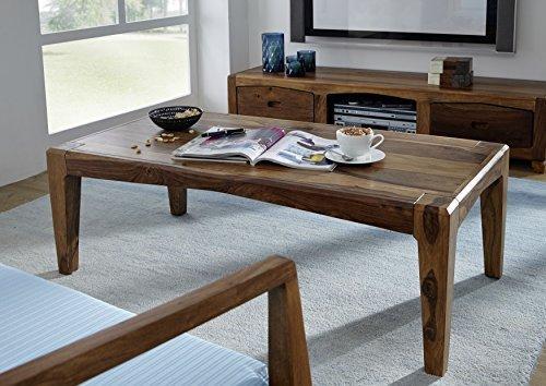 Table basse 120x60cm - Bois massif de palissandre laqué - ANCONA #101