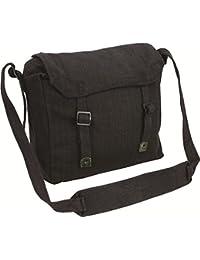 Canvas Webbing Messenger Bag by Highlander