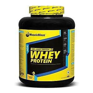 MuscleBlaze Whey Protein, 4.4 lb Delicious Mango