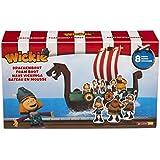 Studio 100 MEVI00000500 Wickie und die starken Männer: Schaumstoffboot mit 8 Figuren