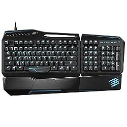 Mad Catz PC S.T.R.I.K.E. TE Mechanical Gaming Keyboard (Matte Black)