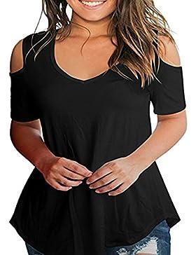 Runant Camisetas Mujer Manga Corta Camisetas Mujer Tallas Grandes Camisetas Mujer Verano Blusa Mujer Sport Tops...