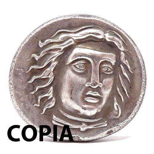 Kopieren Münze Kollektion Replica Antike Krieger mit Axt und Lancia (Antike Axt)