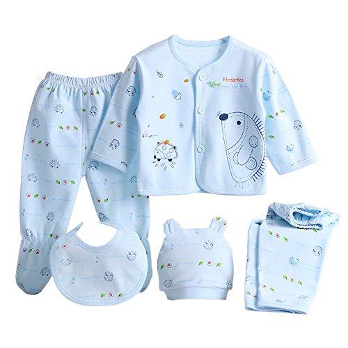 Per 5 piezas Conjuntos ropa bebé Canastilla algodón