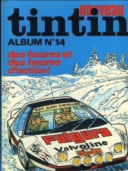 Fascicule Tintin - Tintin (nouveau) - reliure n° 14 -