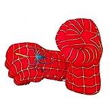 Guizen Spiderman Handschuhe, Superheld Plüsch Boxhandschuhe Spiderman Faust Cosplay Kostüm Hände...