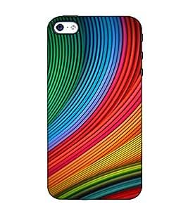 Fuson Designer Back Case Cover for Apple iPhone 5S (Colourful Designer pattern)