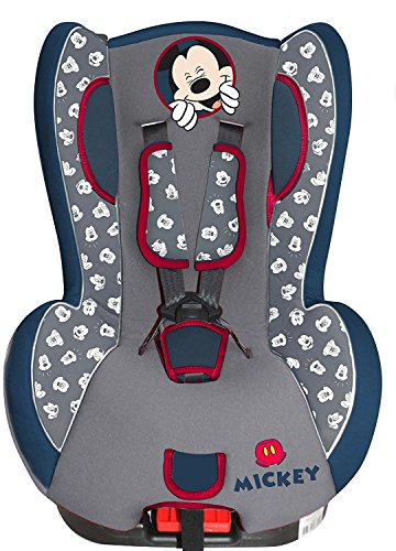 TOP SHOP Disney 25825 Mickey Mouse Auto-Kindersitz, 0-18 kg 73 x 45 x 45 cm