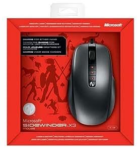 Microsoft Sidewinder X3 Gaming Mouse - Uuc-00003