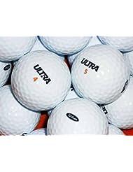 LBC-Sports 50 Wilson Ultra Golfbälle - AAAAA - weiß - Lakeballs - PremiumSelection - gebrauchte Golfbälle - Teichbälle