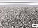 Die HEVO® Hochflor Kollektion - Vegas Hochflor Teppichboden in 6 Farben - Inkl. 2% HEVO® Bestellgutschein - Grau