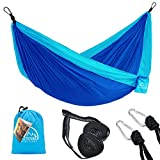 Best Camping Hammocks - LATTCURE hammock made of parachute nylon ultralight Review