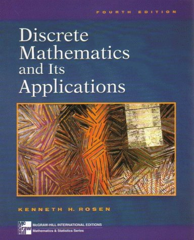 Discrete Mathematics and Its Applications (McGraw-Hill International Editions: Mathematics Series)