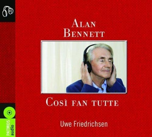 Buchseite und Rezensionen zu 'Cosi fan tutte: Gekürzte Lesung' von Alan Bennett