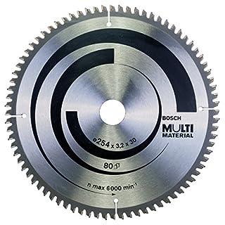 Bosch Professional 2608640450 Multi Material Circular Saw Blade, Silver, 254 x 30 mm