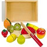 Ulysse 56290 - Fruta de juguete con accesorios para cortar