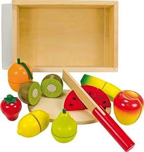 Vicky Tiel Ulysse 56290 - Fruta de Juguete con Accesorios para Cortar