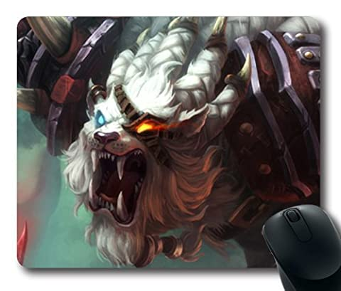 Rengar, the Pridestalker Mouse Pad, Customized Rectangle The Game League of Legends Mousepad Diy By Bestsellcase