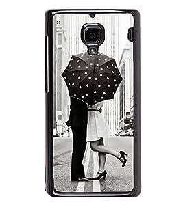 PrintVisa Boy Kiss Girl High Glossy Designer Back Case Cover for Xiaomi Redmi 1S :: Xiaomi Hongmi 1S