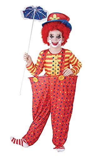 Cercl-Clown-enfants-Costume-de-dguisement