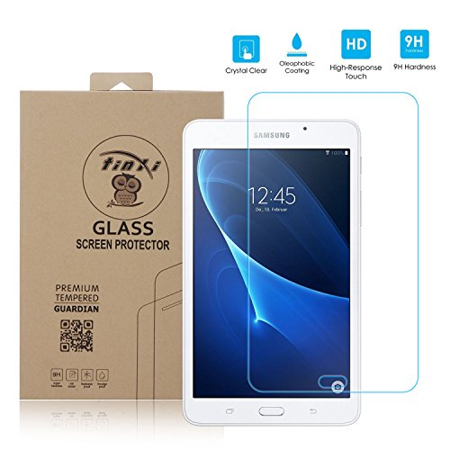 tinxi® Protector de vidrio templado de vidrio templado para Samsung Galaxy Tab A 7,0 T280 7.0 pulgadas prima Protector de pantalla Protector de pantalla ultra duro