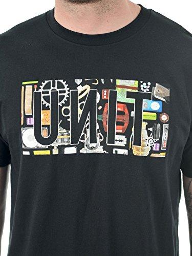 Unit T-Shirt Reset Consume Schwarz Schwarz