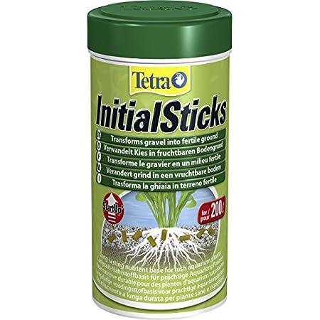 Tetra Initial Sticks Düngestäbchen – verwandeln Kies in fruchtbaren Bodengrund, 250 ml Dose