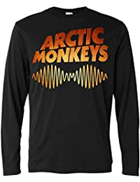 Camiseta de manga larga Hombre - Arctic Monkeys- Flamed Texture - Long Sleeve 100% algodòn LaMAGLIERIA