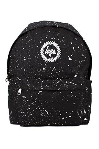 Hype Uomo Zaino Logo Speckle, Blu Black White