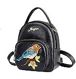 Hemio Backpack Persönlichkeit Rucksack Frau College-Tasche Leuchte CasualWanderrucksack Einfach Rucksäcke Mini (Kleiner Vogel)