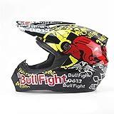 Moto Motocross Casco Mountain Bike Casco Full Face caSchi Moto Casco Mens Red Bull Fight