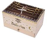 Caja de música / joyero musical de madera de 18 notas con la pequeña bailarina 'Félicie' de la...