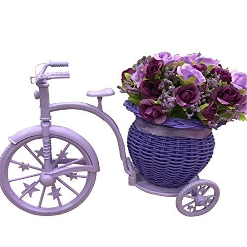 Brillianter Laden Gefälschte Blume Blume Becken Fahrrad Handy Shop gläser schmuck Schuhe gegen Dekorationen Topf schmuck Familie kleine Ornamente