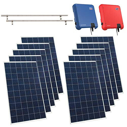 Viessmann PV-Anlage 5,60 KWp Vitovolt 300 Solaranlage Polykristallin Photovoltaik Solarmodule
