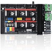 WitBot Ramps 1.6 Plus - Placa de control de expansión para placa base A4988, DRV8825, TMC2130 y controlador de reprap Mendel para impresoras 3D