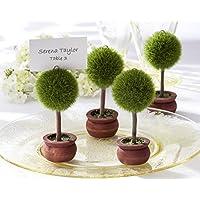 4pz Segnaposto Segnatavolo foglietto incluso bomboniera giardino albero