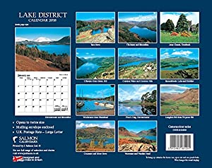 Lake District National Park Calendar 2018