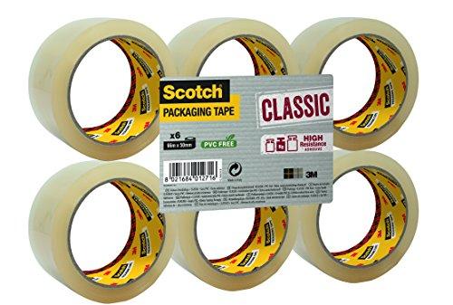 scotch-flatpack-de-6-rouleaux-ruban-polypropylene-classic-50-mmx-66-m-couleur-transparent