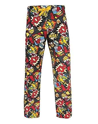 The Simpsons 'Biff Pow' Pantalon de pyjama - X X Large