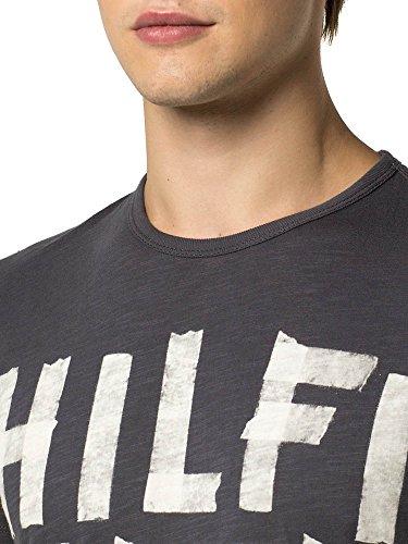 Ebano Camisetas S Base Camiseta Thdm T Hilfiger S Noir xxl 12 Cn aC7aUwq