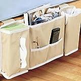 Nachttisch Bett Pocket Organizer Aufbewahrung Tisch Schrank zum Aufhängen Tasche Handy Halter CADDY