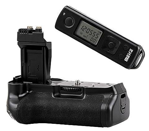 Khalia-Foto Meike Batteriegriff MK-550DR mit Timer-Fernauslöser für Canon EOS 550D, 600D, 650D, 700D wie